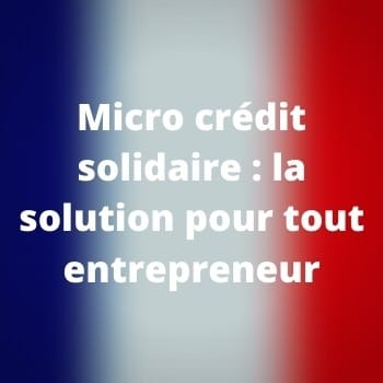 Micro crédit solidaire